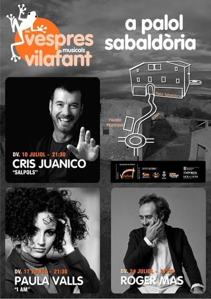 20è Vespres Musicals de Vilafant juliol 2020
