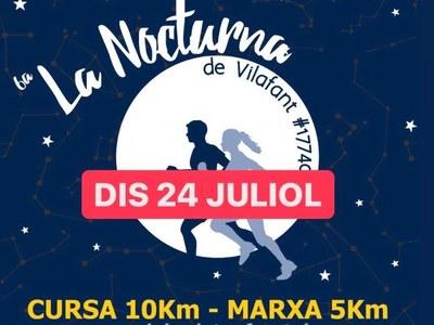 Nova data 6a edició de La Nocturna de Vilafant: Dissabte 24 de juliol