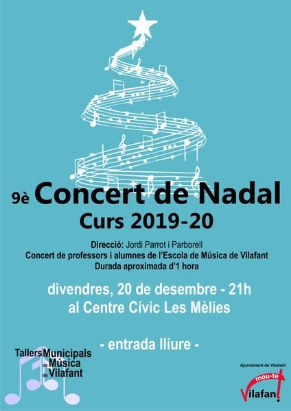 Concert de Nadal dels Tallers de Música Municipals de Vilafant, l'«escola de música»