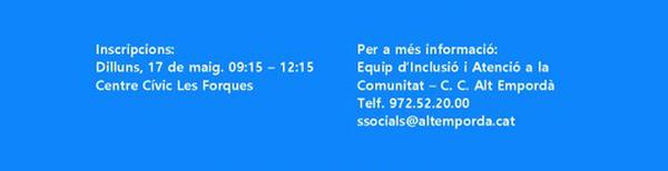 Inscripció Curs de 1a acollida per a persones nouvingudes - Mòdul C (Societat catalana i el seu marc jurídic)