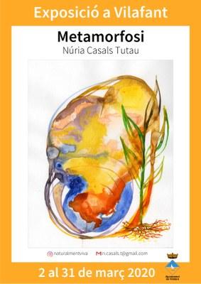 """Exposició de pintura - Núria Casals """"Metamorfosi"""""""