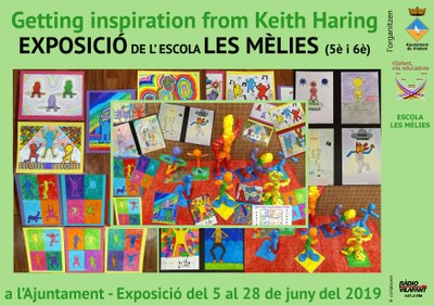 Getting Inspiration from Keith Haring, escola Les Mèlies