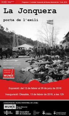 """Exposició: """"La Jonquera, porta de l'exili"""""""