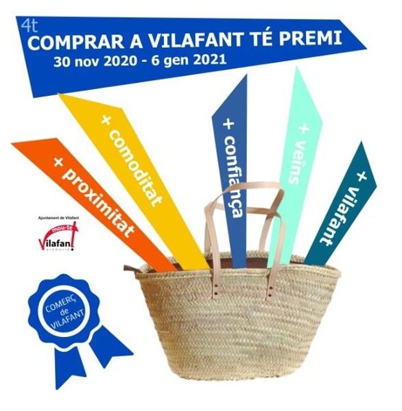 """Comerços de Vilafant, voleu formar-hi part del """"Comprar a Vilafant té Premi!"""""""