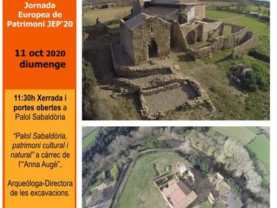 Jornades Europees del Patrimoni a Palol Sabaldòria