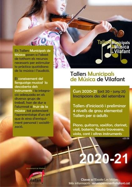Reunió informativa; incripcions Tallers municipals de música de Vilafant