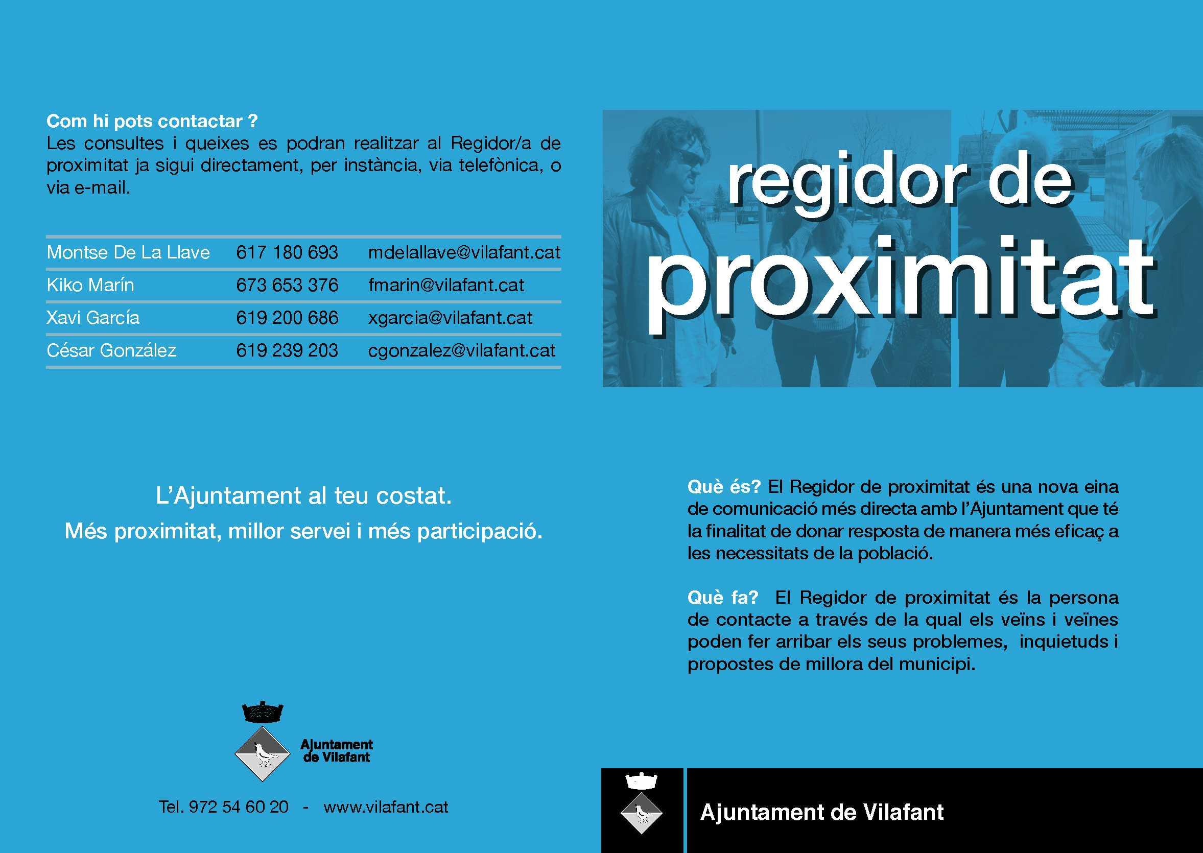 Regidoria de proximitat 2019 PORTADA