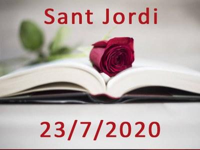23 de juliol 2020 - Sant Jordi