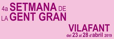 4a setmana de la gent gran de Vilafant, del 24 al 28 d'abril