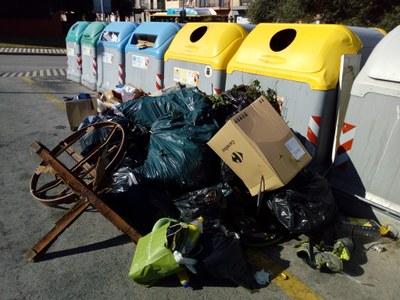Abocaments descontrolats al municipi