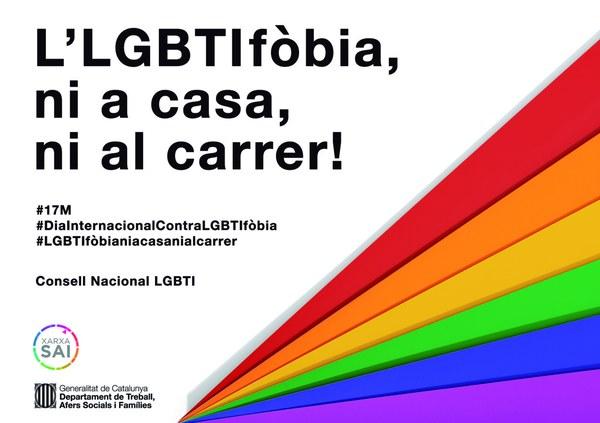 Dia Internacional contra la lgtbifòbia - 17 de maig 2020