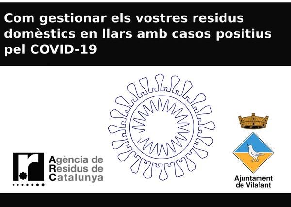 Gestió de residus domèstics durant l'episodi de confinament pel COVID-19