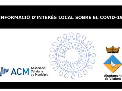 Informació d'interés local sobre el COVID-19