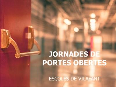 Jornades de portes obertes a les escoles de primària de Vilafant