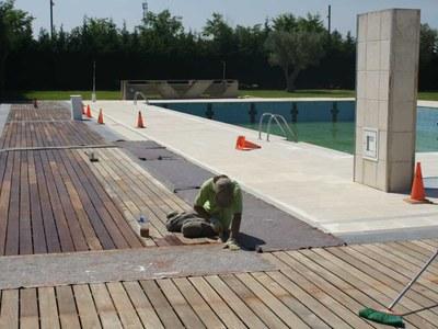 Obertura de la piscina municipal temporada 2021