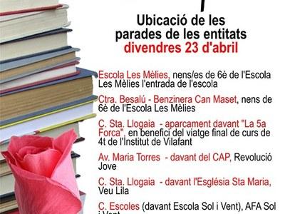 Parades de Sant Jordi a Vilafant