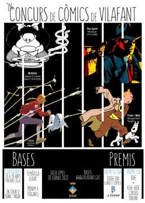 S'obre inscripcions al 2n Concurs de còmics de Vilafant