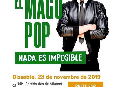 """Sortida per veure l'espectacle """"Nada es Impossible"""" del Mago Pop"""