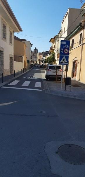 Subvenció de la Diputació de Girona per a l'obra del carrer Figueres - Fase II