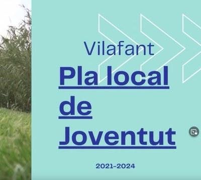 Vídeo sobre el Pla local de Joventut 2021-24