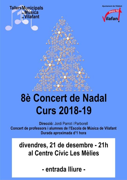 8è Concert de Nadal de l'Escola de Música