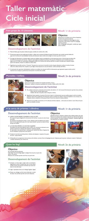 Taller matemaiques Cicle Inicial