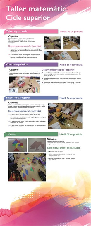 Taller matemaiques Cicle Superior